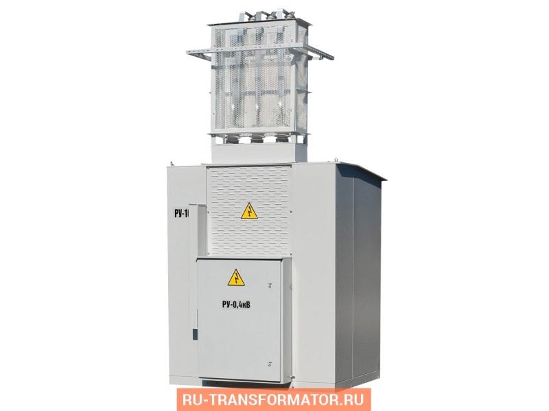 Подстанция КТП-ВМ 100/6/0,4 фото чертежи от завода производителя