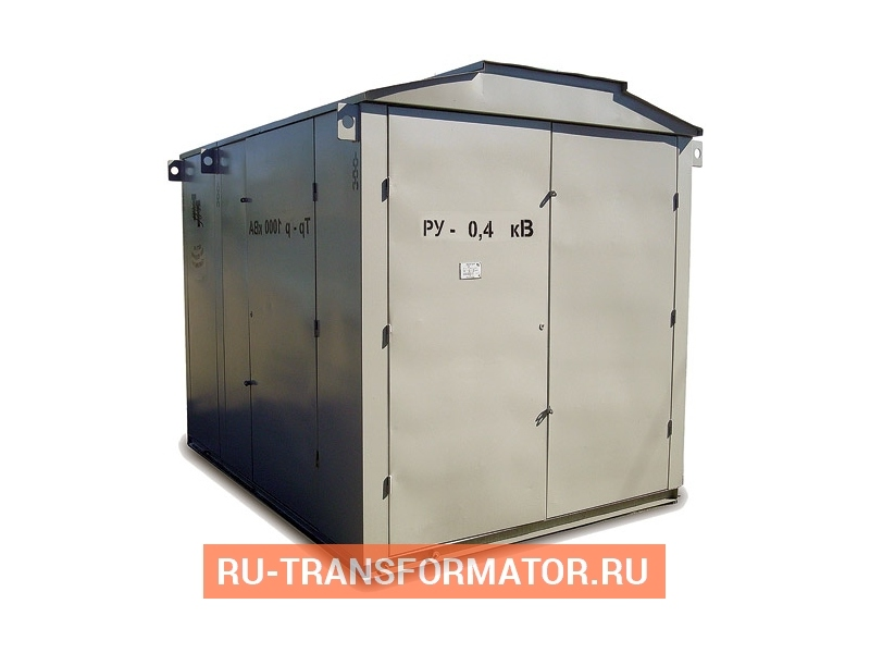Подстанция КТП-ПК 2000/6/0,4 фото чертежи от завода производителя