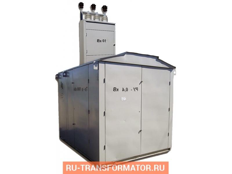Подстанция КТП-ТВ (Р) 400/6/0,4 фото чертежи от завода производителя