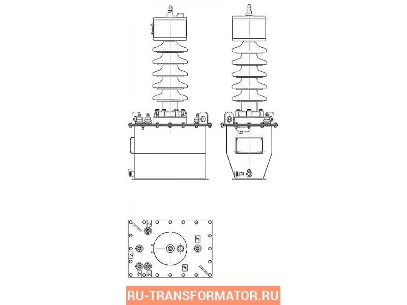 Трансформатор ЗОМ 1,25/27,5 фото чертежи от завода производителя