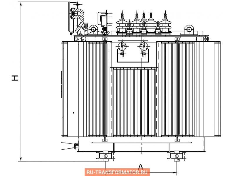Трансформатор ТМПНГ 665 фото чертежи от завода производителя