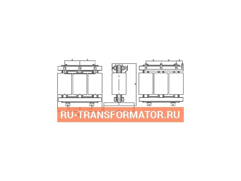 Трансформатор ТСН 2500/6/0,4 фото чертежи от завода производителя