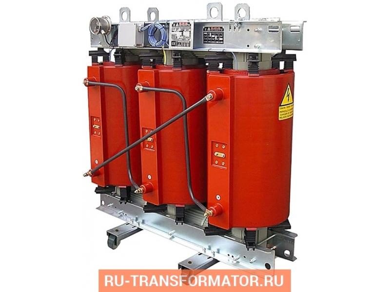 Трансформатор ТСГЛ 2500/10/0,4 фото чертежи от завода производителя
