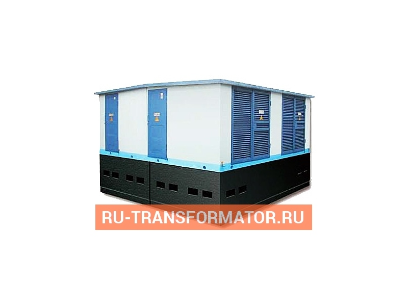 Подстанция БКТП-П 1600/6/0,4 фото чертежи от завода производителя