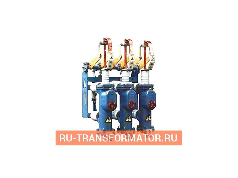 Выключатель масляный ВПМ -10 -20/630 У3 фото чертежи от завода производителя