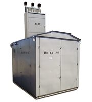 Подстанция КТП 400/10/0,4 заводские фото и чертежи