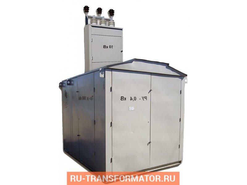 Подстанция КТП-ПВ 1250/10/0,4 фото чертежи от завода производителя