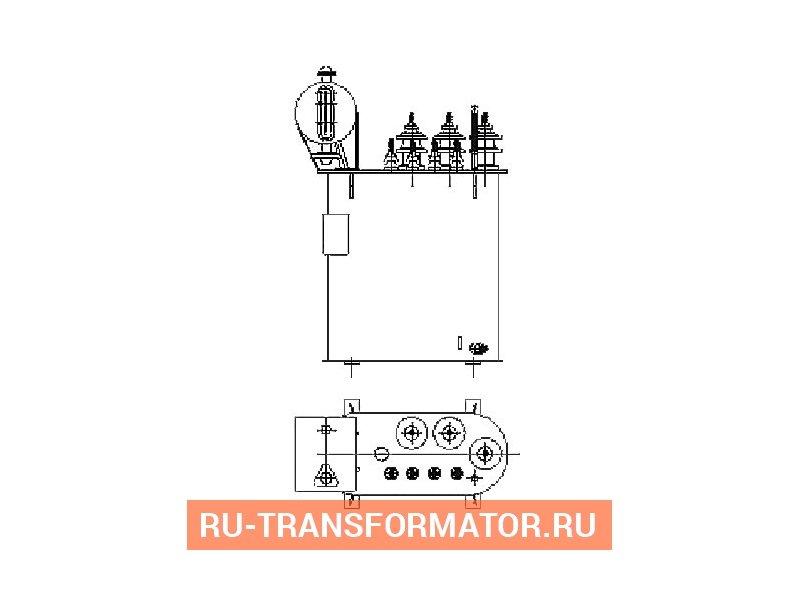 Трансформатор ТМ 25 10 0,4 фото чертежи от завода производителя