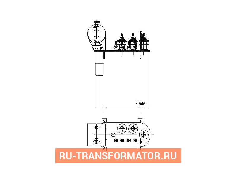 Трансформатор ТМ 40 10 0,4 фото чертежи от завода производителя