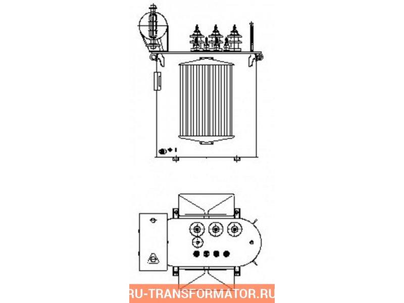 Трансформатор ТМ 250 6 0,4 фото чертежи от завода производителя