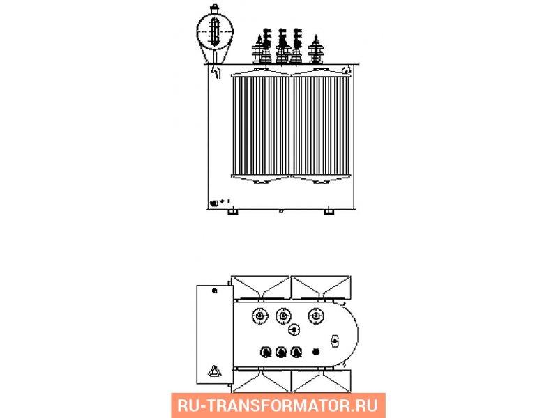 Трансформатор ТМ 630 10 0,4 фото чертежи от завода производителя