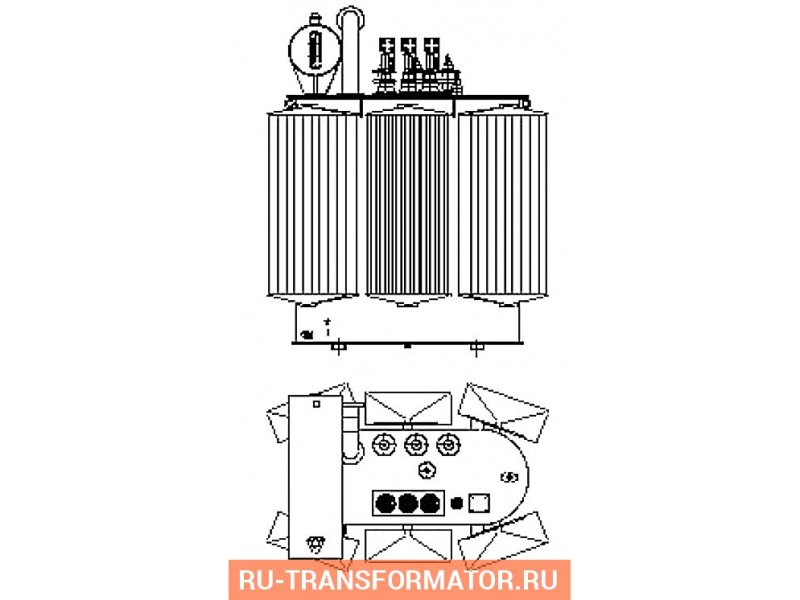 Трансформатор ТМ 1600 35 0,4 фото чертежи от завода производителя