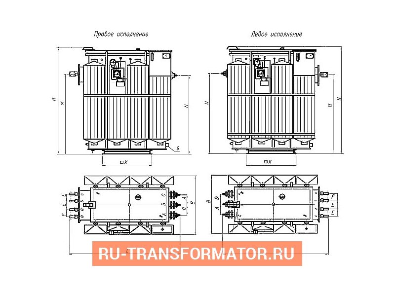 Трансформатор ТМЗ 400 6 0,4 фото чертежи от завода производителя