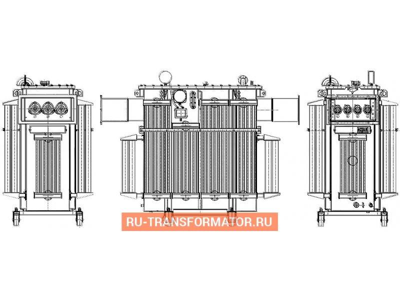 Трансформатор ТМГФ 630 6 0,4 фото чертежи от завода производителя