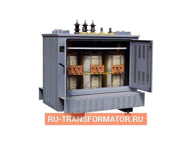 Трансформатор ТСЗ 1600/10/0,4 фото чертежи от завода производителя