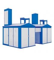 Подстанция 2КТП-ПВ 400/6/0,4 заводские фото и чертежи